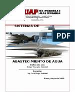 Trabajo- Contrucc II - Abastecimiento de Agua