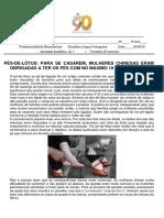 AV1 Língua Portuguesa 6 Anos Karla 1103