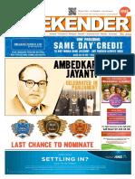 Indian Weekender 13 May 2016