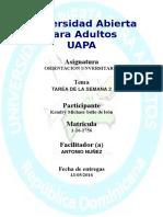 Orientacion Universitaria Tarea 2