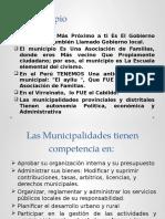 3ra Ley Organica de Municpalidades y Autonomia