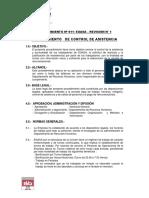 11-01 Procedimiento n 011 - CoPROCEDIMIENTOntrol de Asistencia