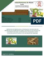 Obtención de Riboflavina Vitamina b2 Equipo 8
