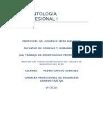 Promulgacion Ley Del Colegio de Ingenieros Del Peru