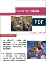 Infeccion en Cirugia