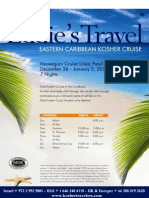 EASTERN CARIBBEAN KOSHER CRUISE 26 December 2010