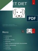 PET DIET Presetación