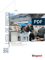 Precios Industrial Legrand 2015