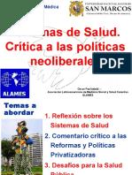 Reformas y Políticas Neoliberales