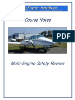 Multi-Engine Safety Review Course Notes