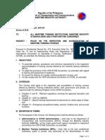 MARINA Memorandum Circular No. 2013-01