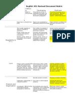 andrew-portfolio revised document rubric