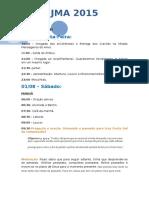 Programação JMA 2015