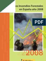 Incendios Forestales 2008