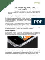 NP_EL NUEVO EMBLEMA DE HTC ESCULPIDO A LA PERFECCIÓN