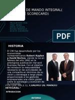 Cuadro de Mando Integral( Balance Scorecard)