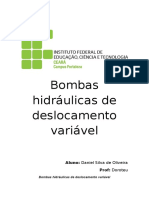 Bombas Hidráulicas de Deslocamento Variável