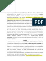 40662430 Proyecto de Demana en Juicio Oral de Pension Alimenticia