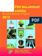Kabupaten Balangan Dalam Angka 2015