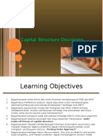 2 Capital Structure Decisions November 2014
