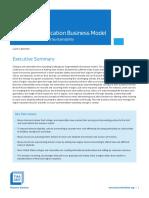 Higher Education Business Model
