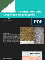 evidence training module