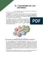 Unidad 3 Taxonomia de Los Sistemas