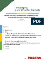 Developing Career and Life as IPB Graduates (1)