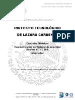 REPORTE VARIADOR Parametrizacion