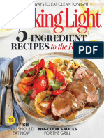 Cooking Light - August 2015 USA