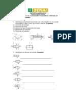 Prova de Recuperação II de Acionamentos Hidráulicos e Pneumáticos