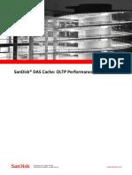 SanDisk DAS Cache OLTP Performance Whitepaper