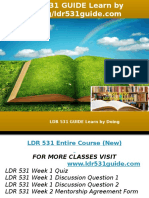LDR 531 GUIDE Learn by Doing-ldr531guide.com