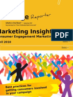Change Reporter - Marketing Insights