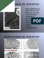 Enfermedad de Alzheimer Diapos LISTO