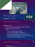 ME165-1_Week-6. Hydroelectric Power - Part 2_4831459