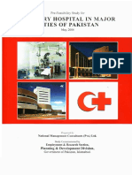 Tertiary Hospital in Major Cities of Pakistan