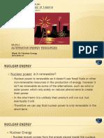 ME165 1_Week 10.1 Nuclear Energy