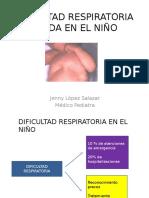 Dificultad Respiratoria Aguda en El Niño