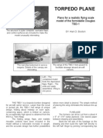 Douglas TBD-1 - a Free-Flight Model Airplane