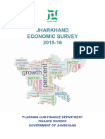 Jharkhand Economic Survey 2015-16