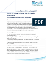 S05 Designing Connections Within Revit Structure to Drive BIM Models to Fabrication-Doug Evans_Handout