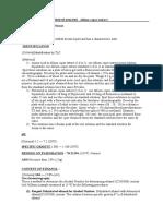 METHOD of ANALYSIS - Allium Cepae Extract