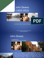 John Dewey. La Escuel Activa