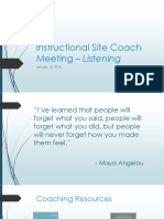 instructional site coach meeting - 1 15 16 listening