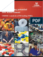 Crisil Analysis 50 Leading Smes