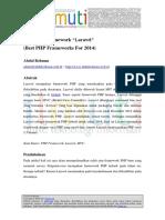 Abdul Rohman-Mengenal Framework Laravel