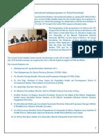 "UN INIA/ILC-I's International Training Programme on ""Social Gerontology"""