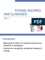 07 - Topic 6 - Occupational Injuries and Illnesses