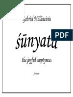 Sunyata Complete Score